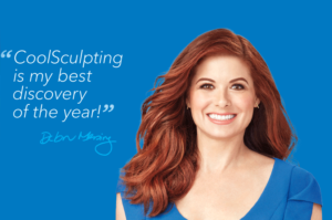 debra messing Global Brand Ambassador, Coolsculpting