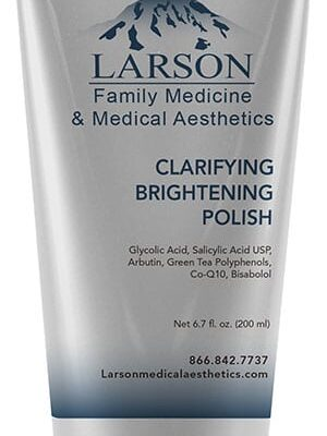 clarifying brightening polish