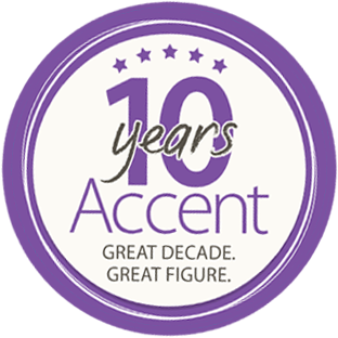 10 years accent