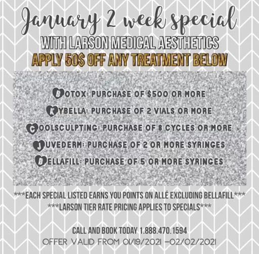 january 2 week specials