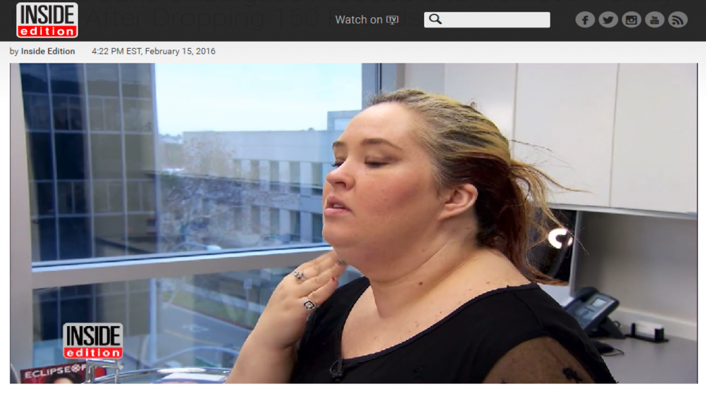 Mama June Undergoes Procedure To Remove 'Turkey Neck' After Dropping 150 Pounds
